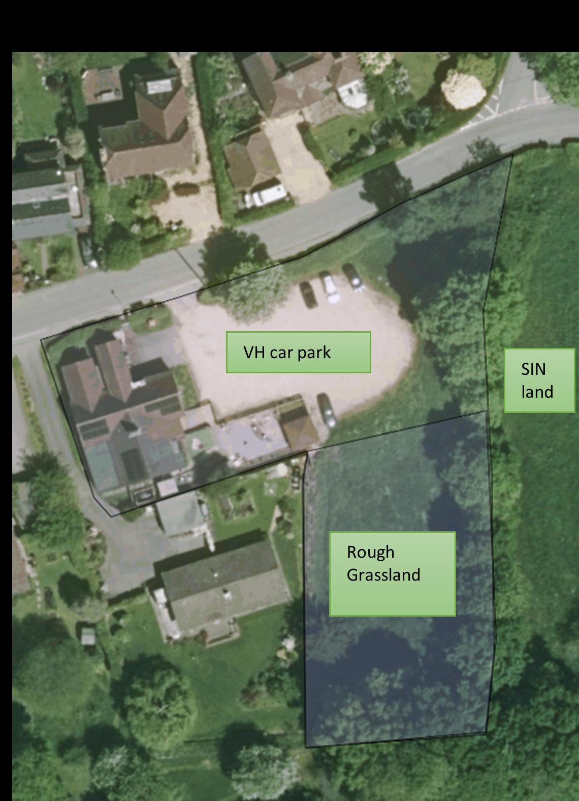 Steep Village Hall Aerial Shot
